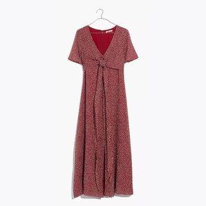 Madewell Ditsy Flowers Wrap-Around Maxi Dress 14